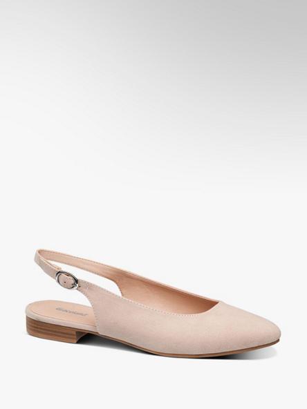 Graceland Lichtroze ballerina gespsluiting