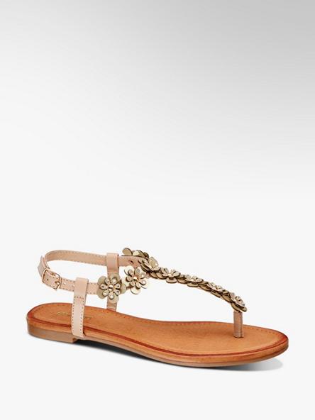 Graceland Béžové sandály Graceland