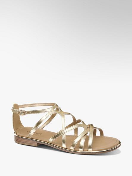 Graceland Metalické sandále