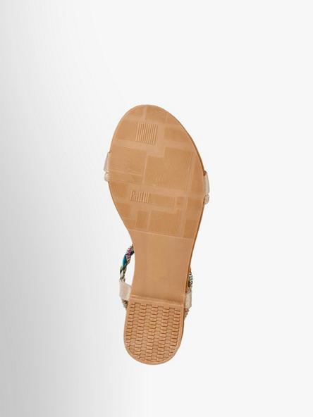 Sandale Von Graceland Beige Artikelnummernbsp;1219658 In CoerdBxW