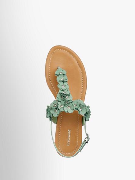 Sandale In Von Artikelnummernbsp;1210666 Graceland Grün PkTOZiuX