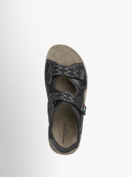 Schwarz Sandale One Von Memphis In Artikelnummernbsp;1352000 WDEH29I