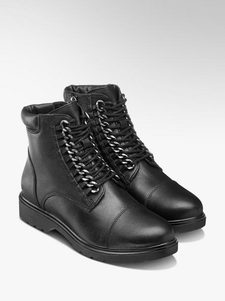 Zimná obuv so šnurovaním značky 5th Avenue vo farbe čierna ... 568c0fb20af