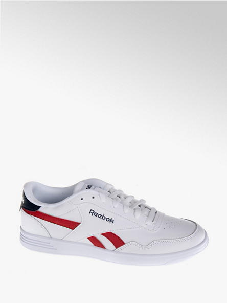 Reebok biało-czerwone sneakersy męskie Reebok Royal Techque T