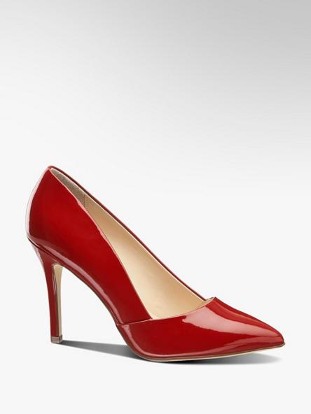 Graceland czerwone szpilki damskie Graceland