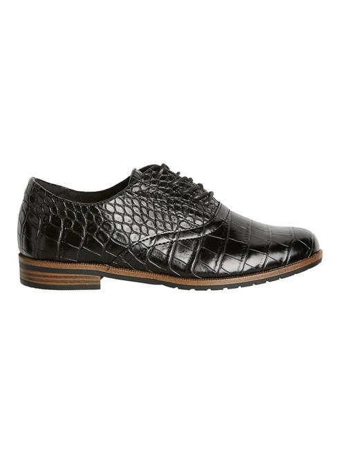 Vero Moda Дамски черни обувки с връзки Vero Moda