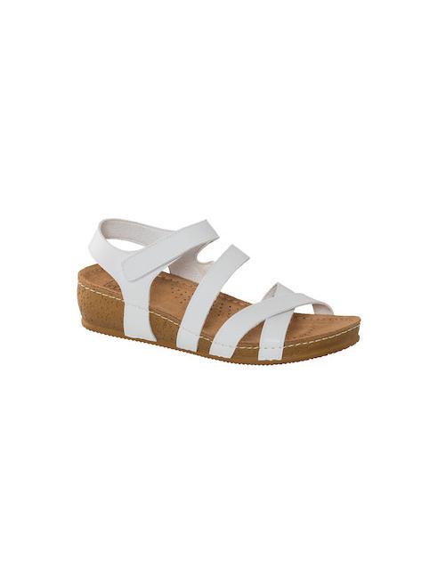 Easy Street Дамски бели комфортни сандали Easy Street