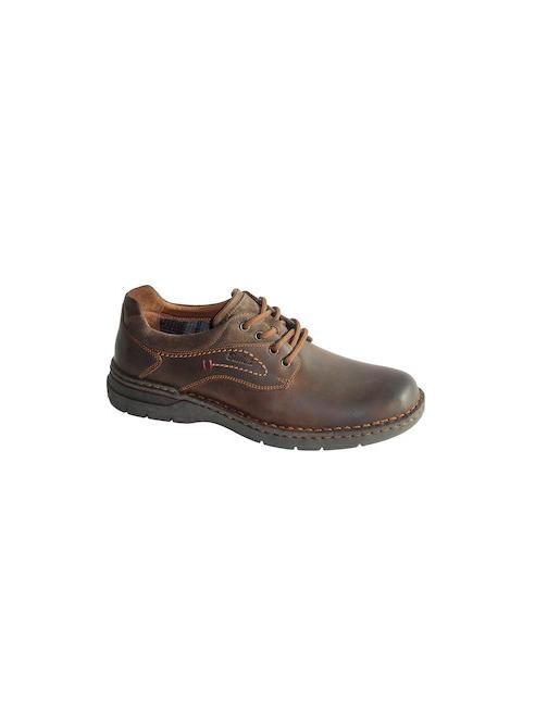 Gallus Мъжки кожени кафяви обувки Gallus