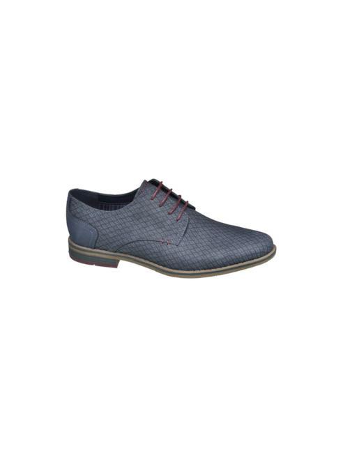 Memphis One Мъжки тъмносиви официални обувки Memphis One