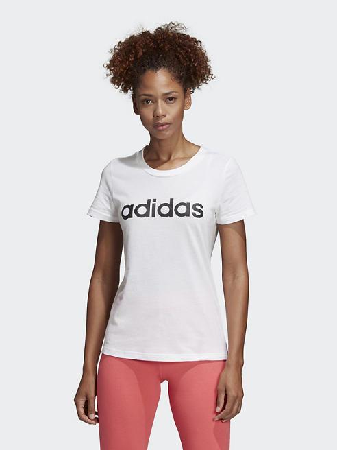 adidas Camiseta ADIDAS ESSENTIALS LINEAR LOGO SLIM