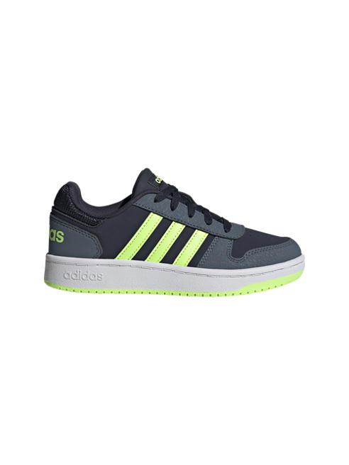 adidas Детски сини сникъри adidas HOOPS 2.0 K