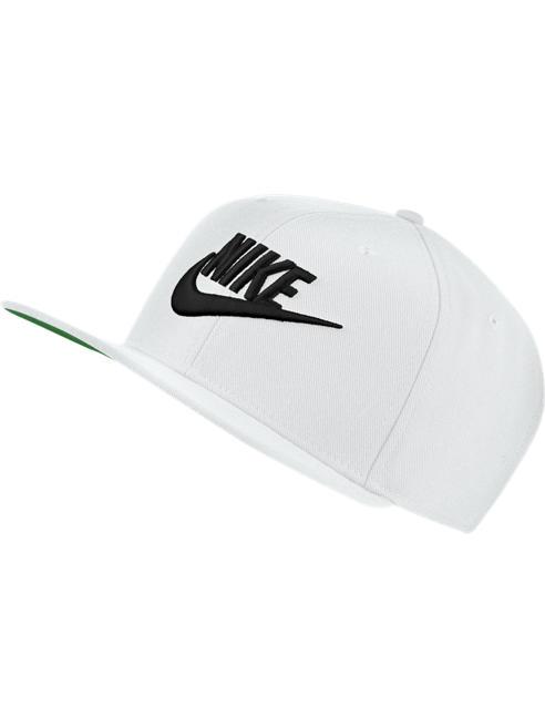 NIKE Маркова бяла шапка с козирка NIKE