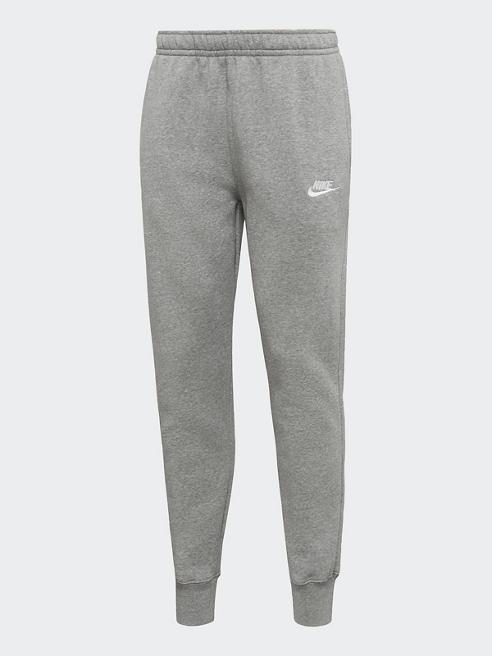NIKE Jogginghose in Grau mit Elastbund