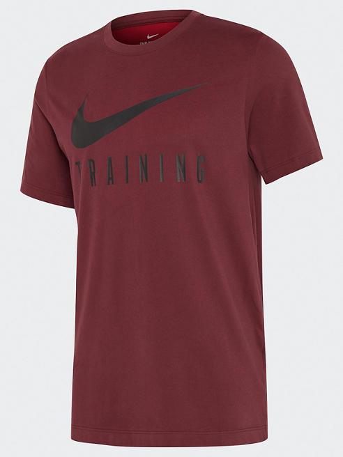 NIKE Trainings T-Shirt in Rot