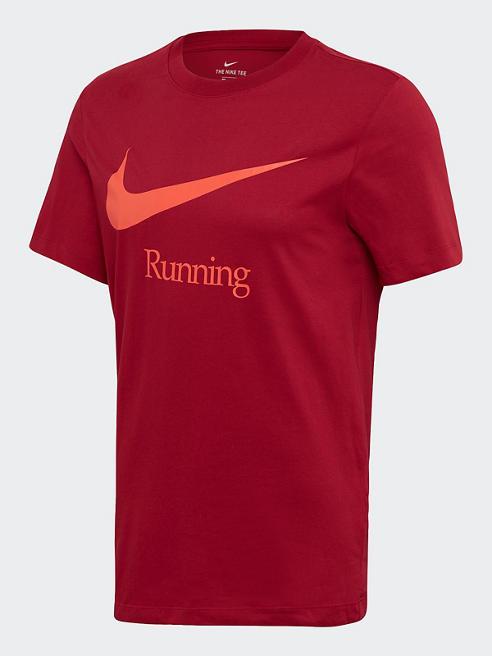 NIKE Trainingsshirt in Rot