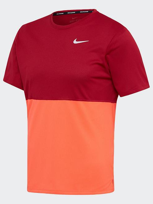 NIKE Trainingsshirt in Rot-Orange