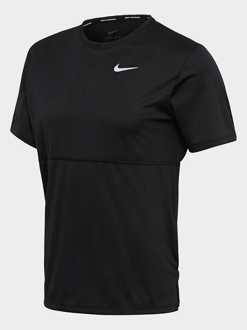 NIKE Trainingsshirt in Schwarz