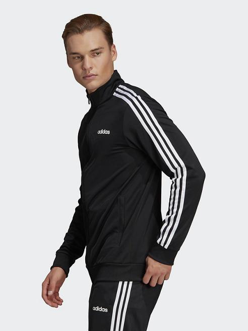 adidas Jacke in Schwarz
