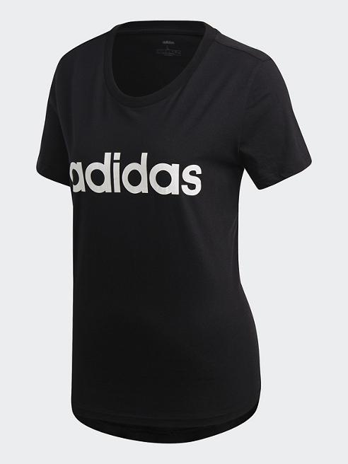 adidas T-Shirt in Schwarz