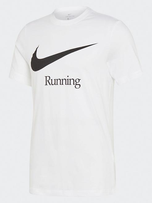 NIKE biała koszulka męska Nike Dri-Fit