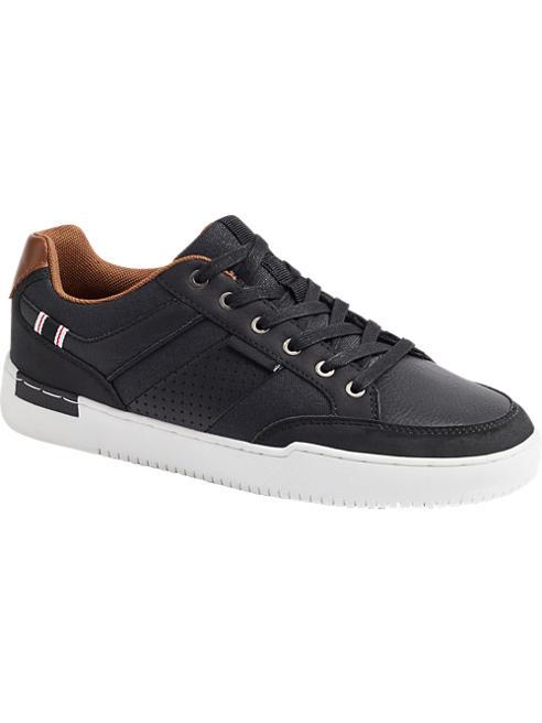 Memphis One czarne sneakersy młodzieżowe Memphis One