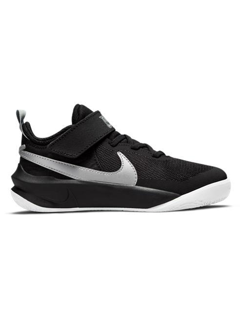 NIKE czarno-białe sneakersy dziecięce Nike TEAM HUSTLE D10
