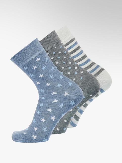 Graceland 3er Pack Socken