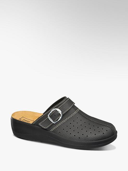 Easy Street Černé komfortní pantofle Easy Street