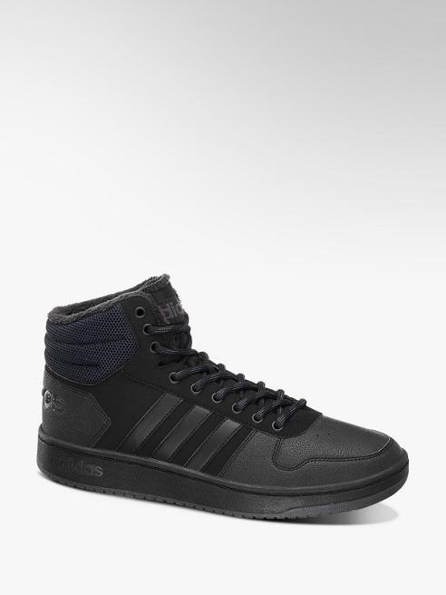 adidas Černé kotníkové tenisky Adidas Warm Lining