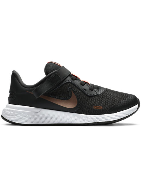 NIKE Čierne tenisky Nike Revolution 5 Flyease