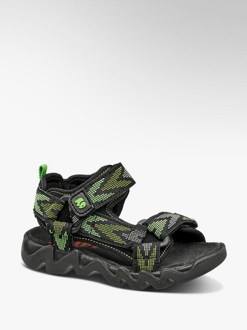 Elefanten Čierno-zelené sandále Elefanten