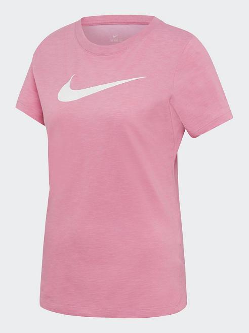 NIKE różowa koszulka damska z systemem Nike Dri-Fit
