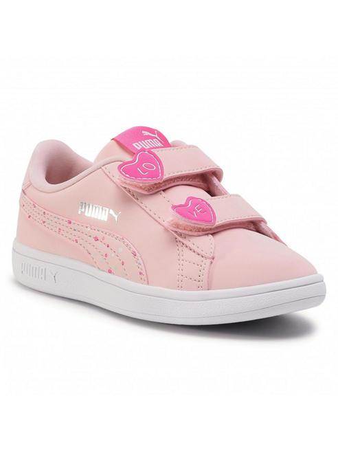 Puma różowe sneakersy dziewczęce Puma Smash Confetti