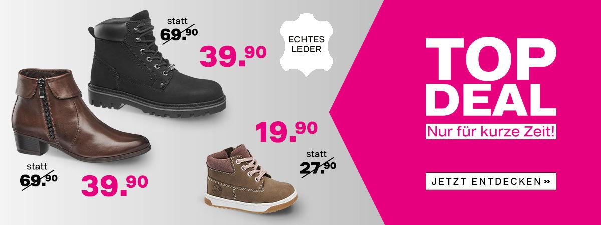 Schuhe online bestellen zu günstigen Preisen -