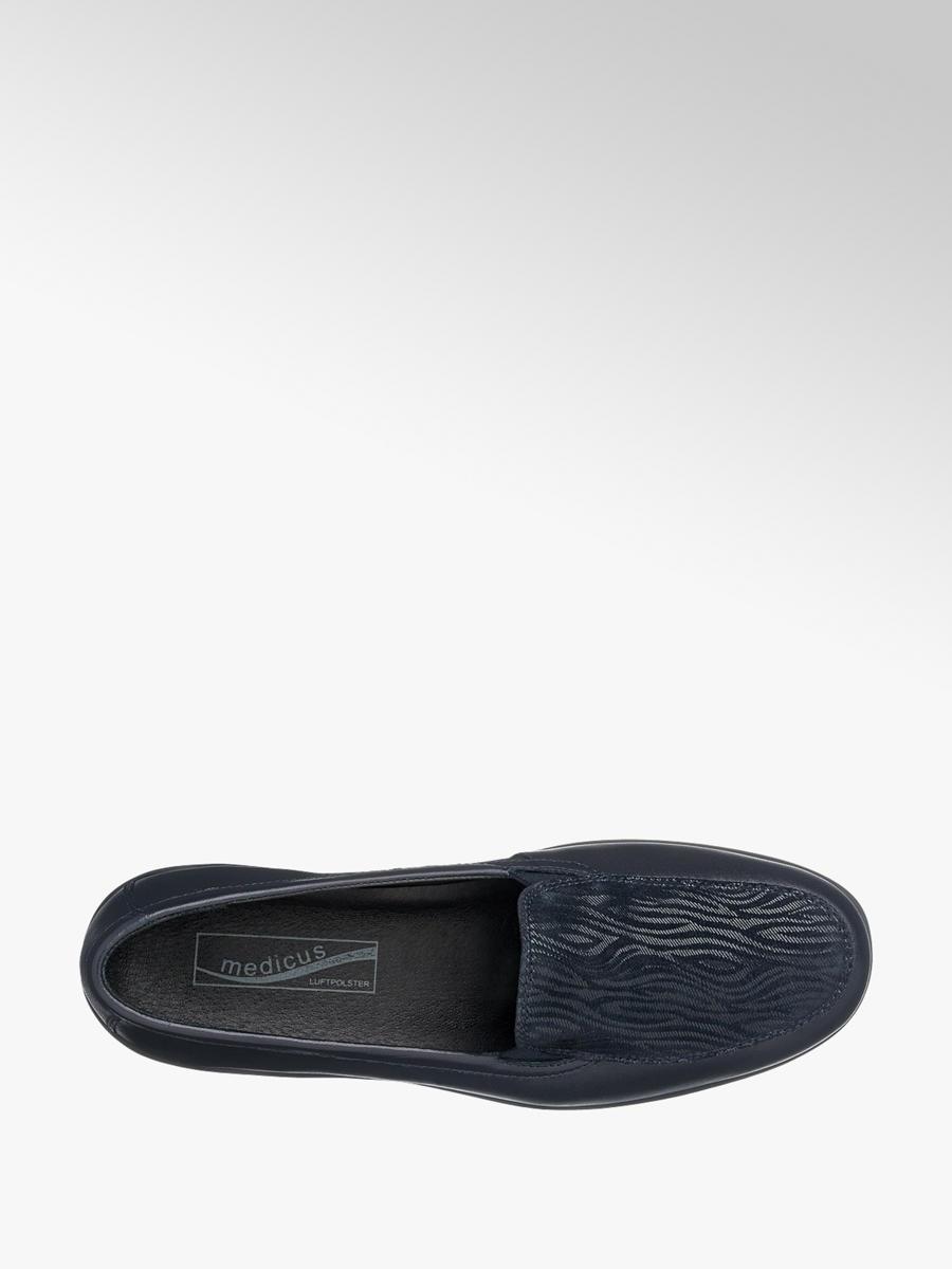 967b0d53f5fb Damen Slipper in dunkelblau von Medicus günstig im Online-Shop kaufen