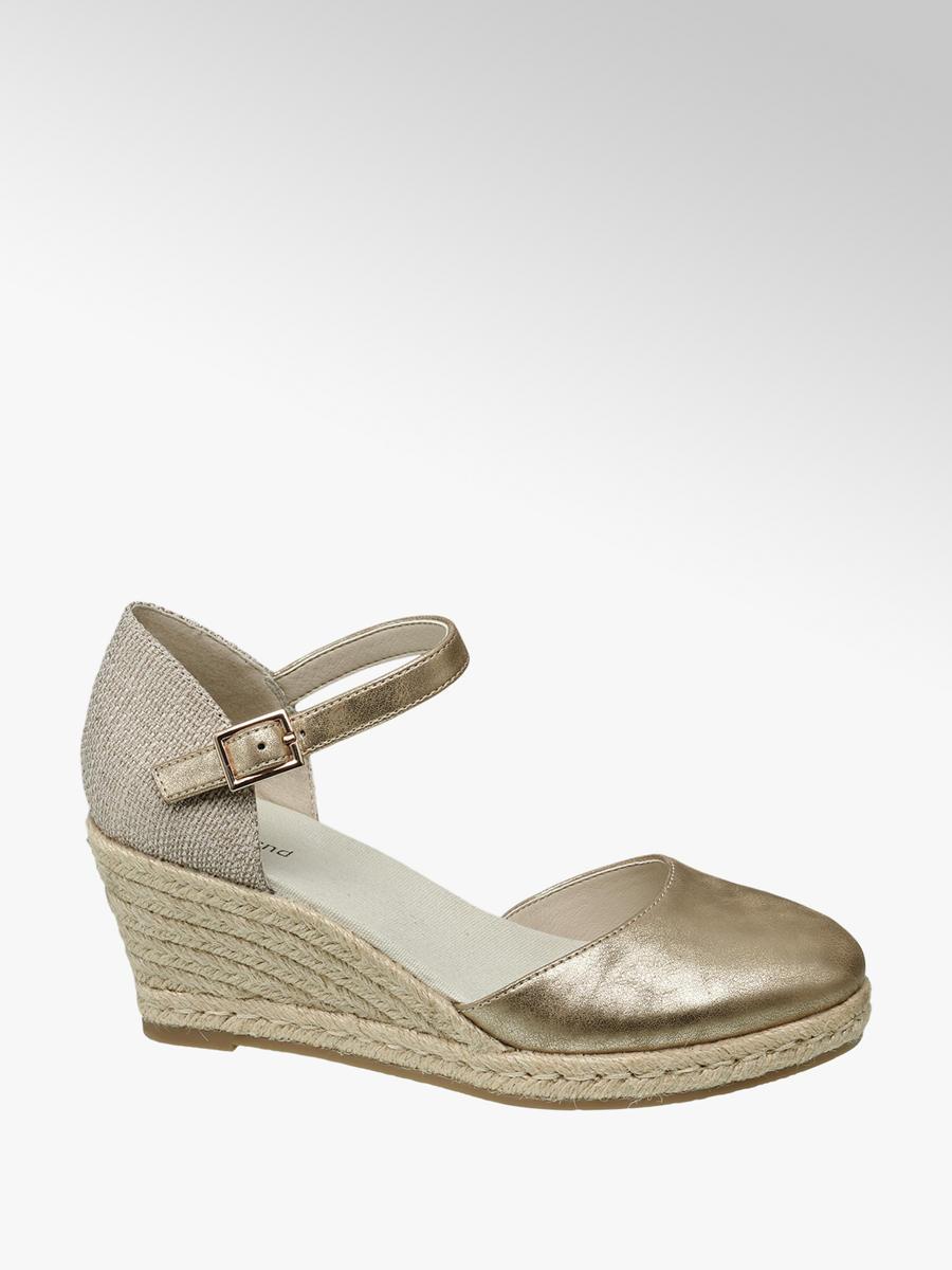 best service ae718 b1a70 Sandales compensées - Femme - Chaussures - Sandales compensées