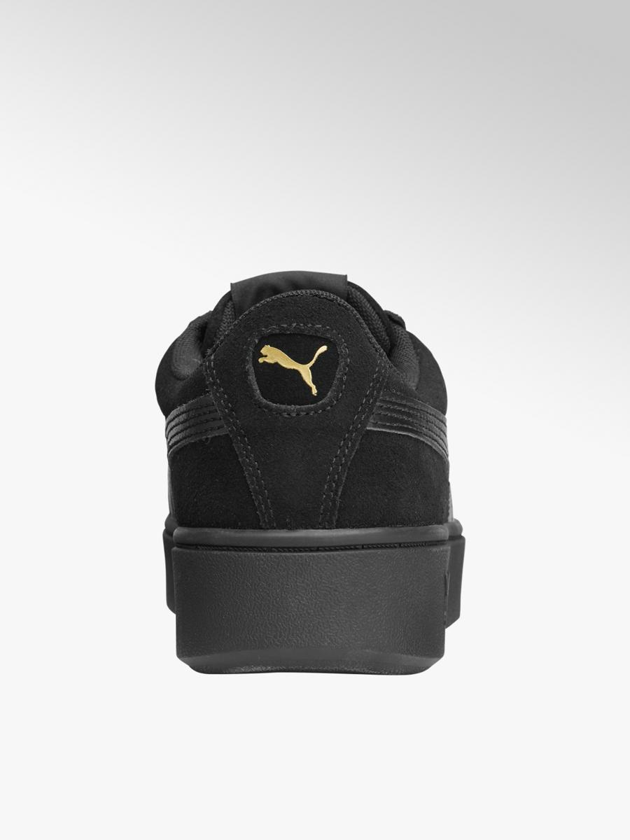 Zwarte Vikky Stacked Collecties Merksneakers