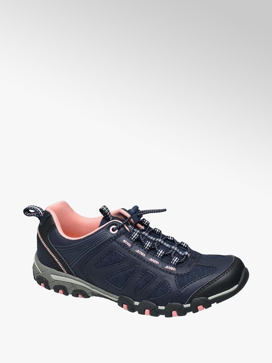 VanHaren Landrover sneakers met opengewerkte details lichtroze
