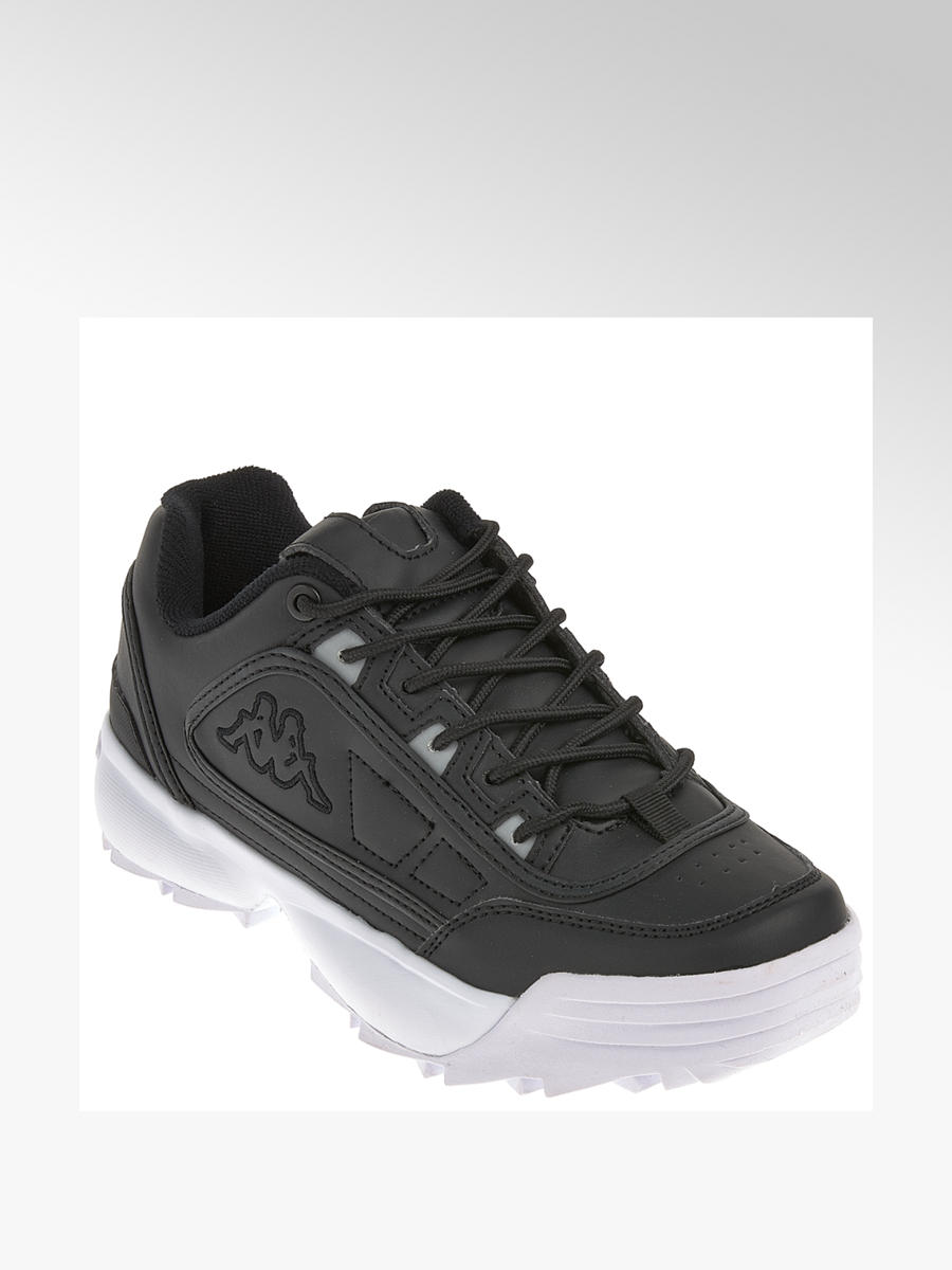 Chunky Sneaker von Kappa in schwarz DEICHMANN