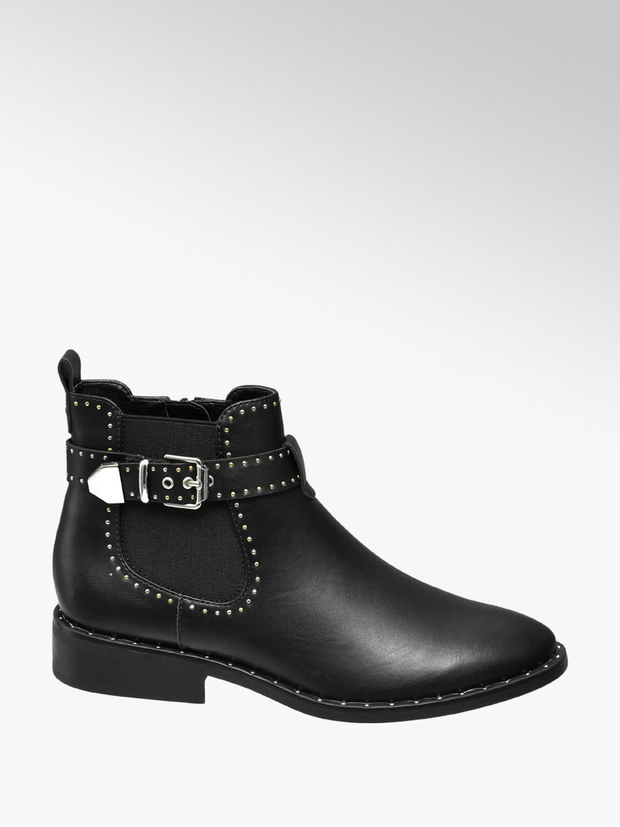 Zwarte chelsea boot gesp Collecties Fall musthaves