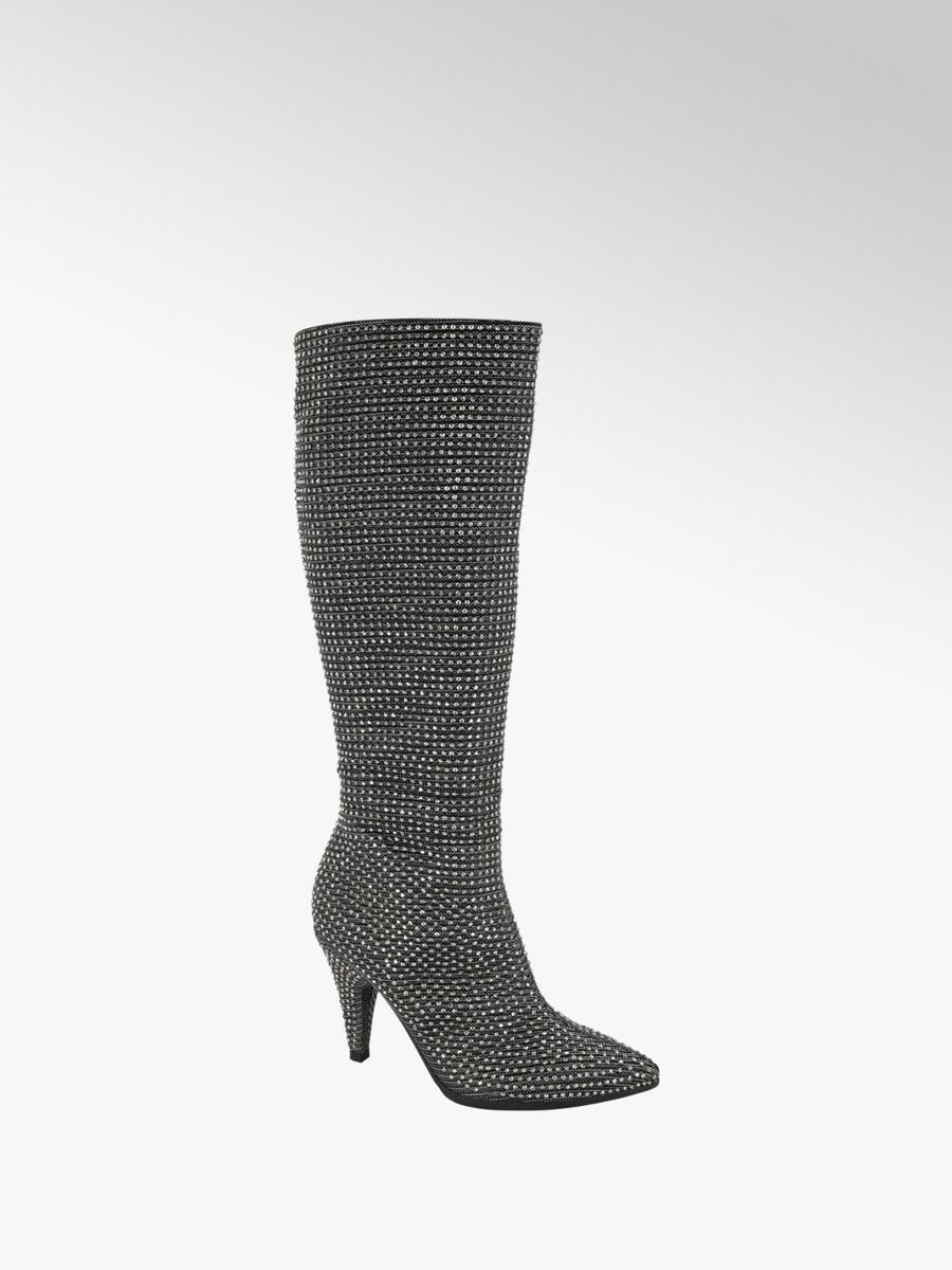 Højhælede støvletter   Damer   Find din nye støvlet online