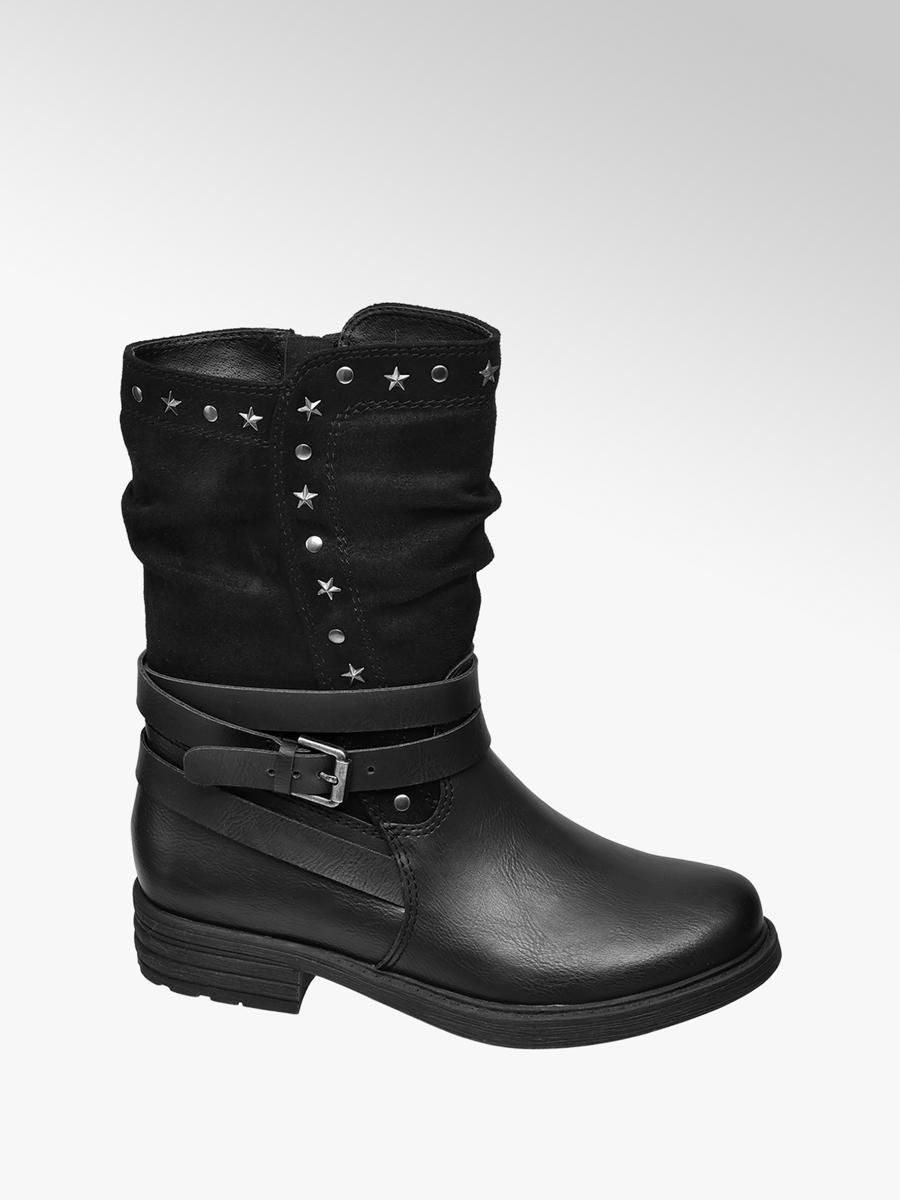 Black Stiefel Mädchen Friday Weekend Kinder Boots mvnyN08wOP