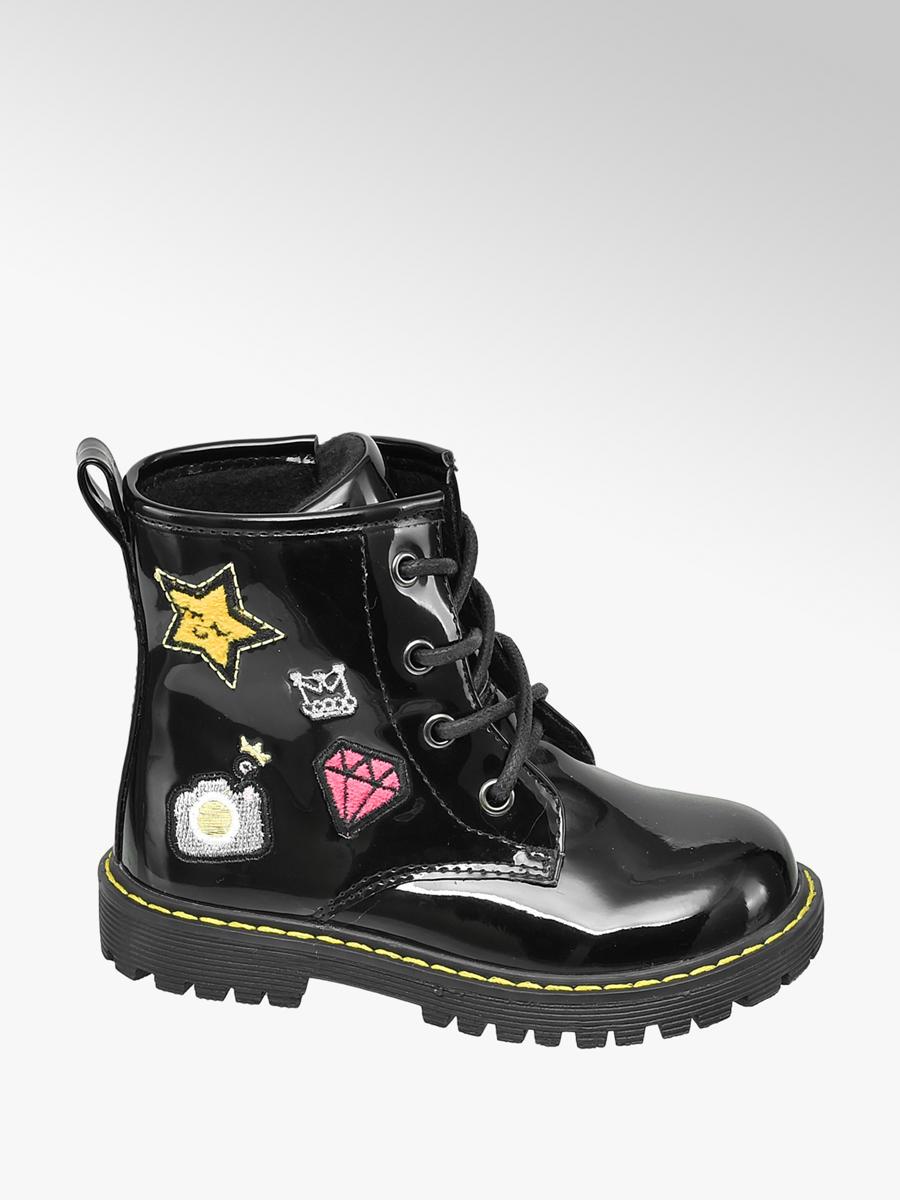 Snørestøvle Lak Look Børn Støvler & Boots Snørestøvler