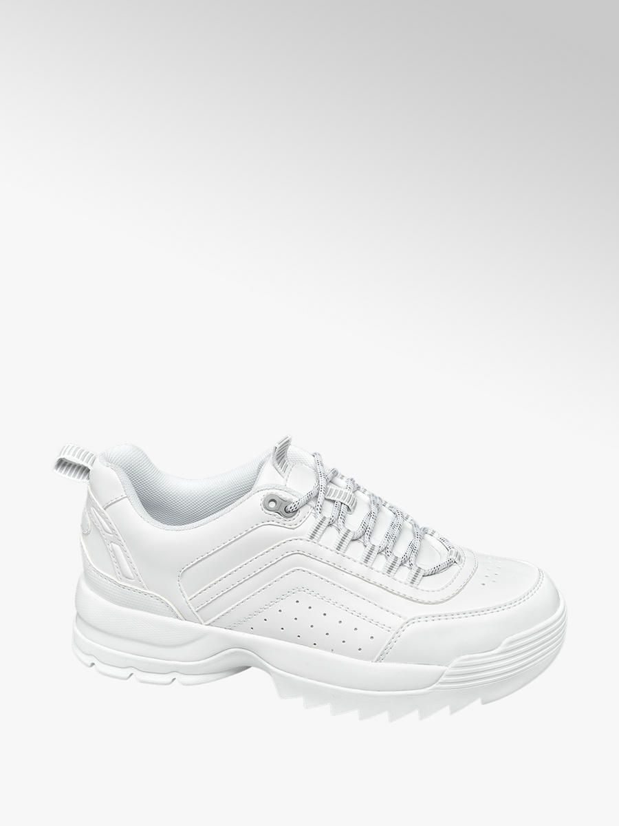 Witte chunky sneaker COLLECTIES Back to school