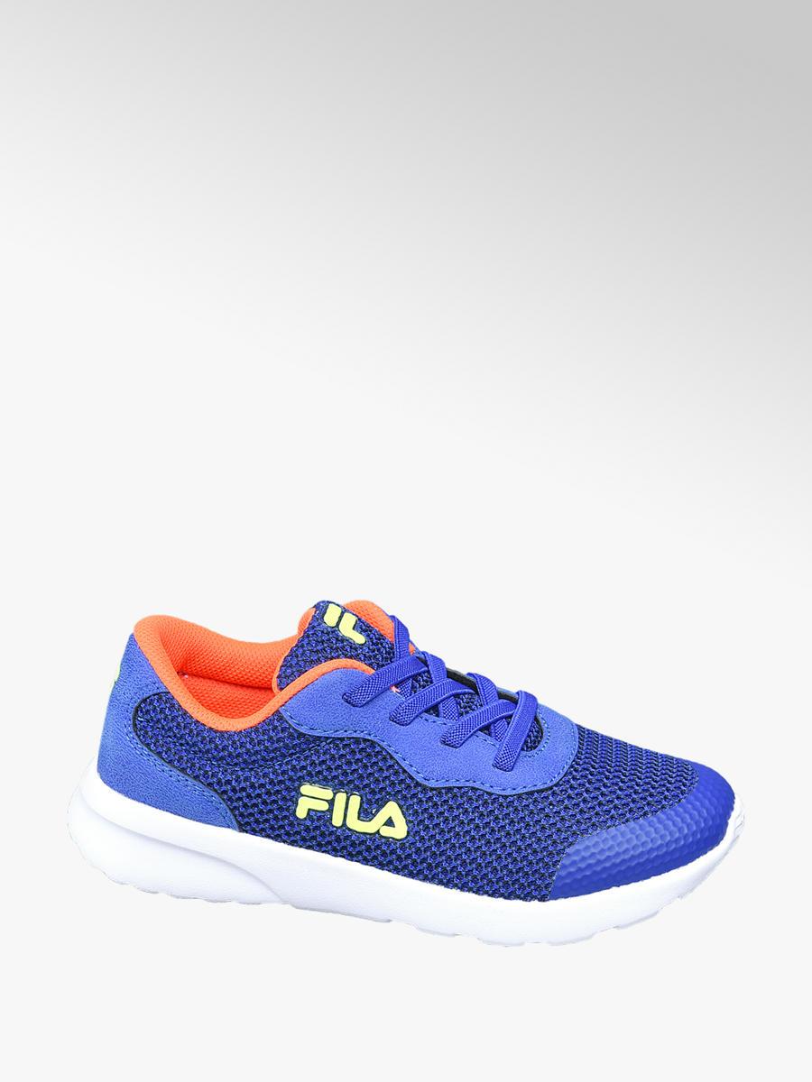 Junior Boys Fila Blue Trainers - Kids