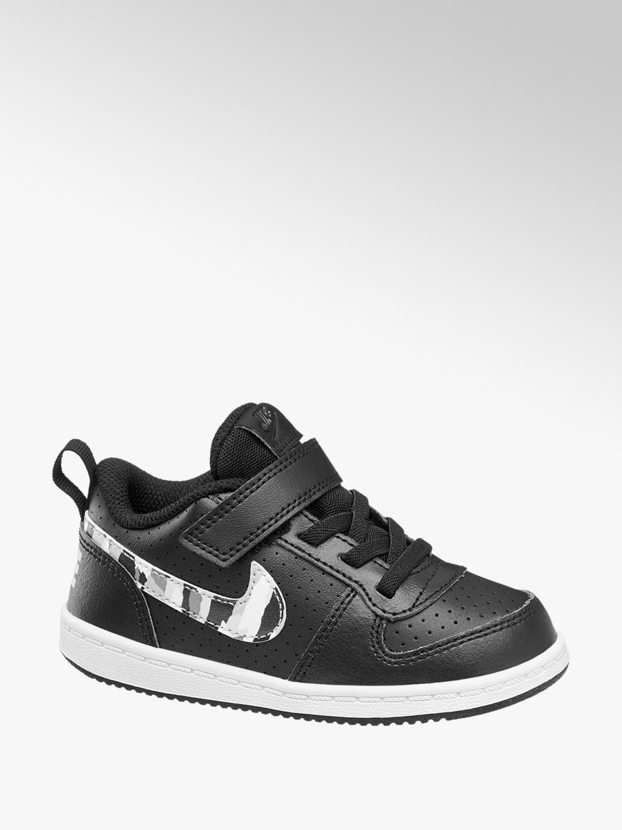 differently 1325e 48575 Acheter à prix avantageux Court Borough Low sneaker garçons en noir blanc  de undefined dans la boutique en ligne