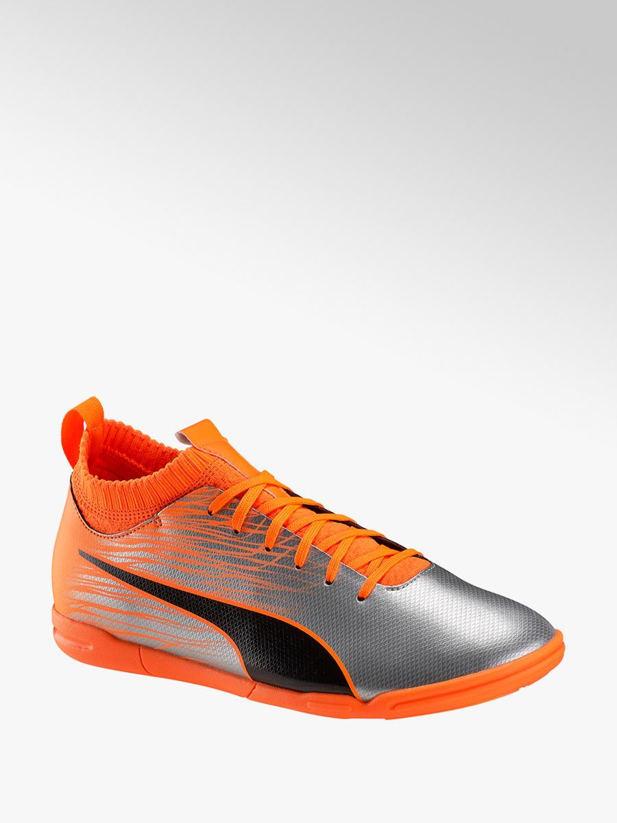 73dc1427fdf Acheter à prix avantageux Evo Knit FTB II IT JR chaussure de football indoor  enfants en orange de Puma dans la boutique en ligne