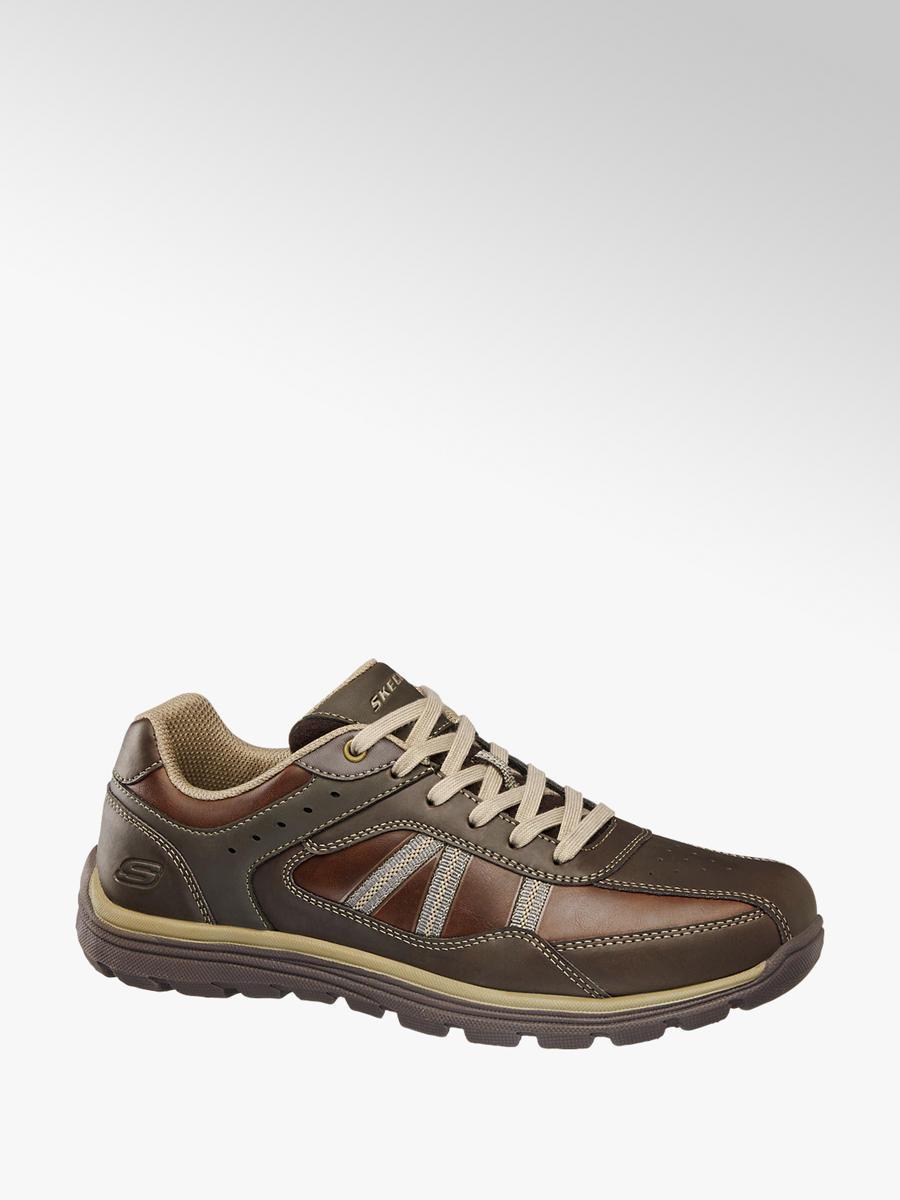 9ce98464bdb Acheter à prix avantageux chaussure à lacet hommes en brun de Skechers dans  la boutique en ligne