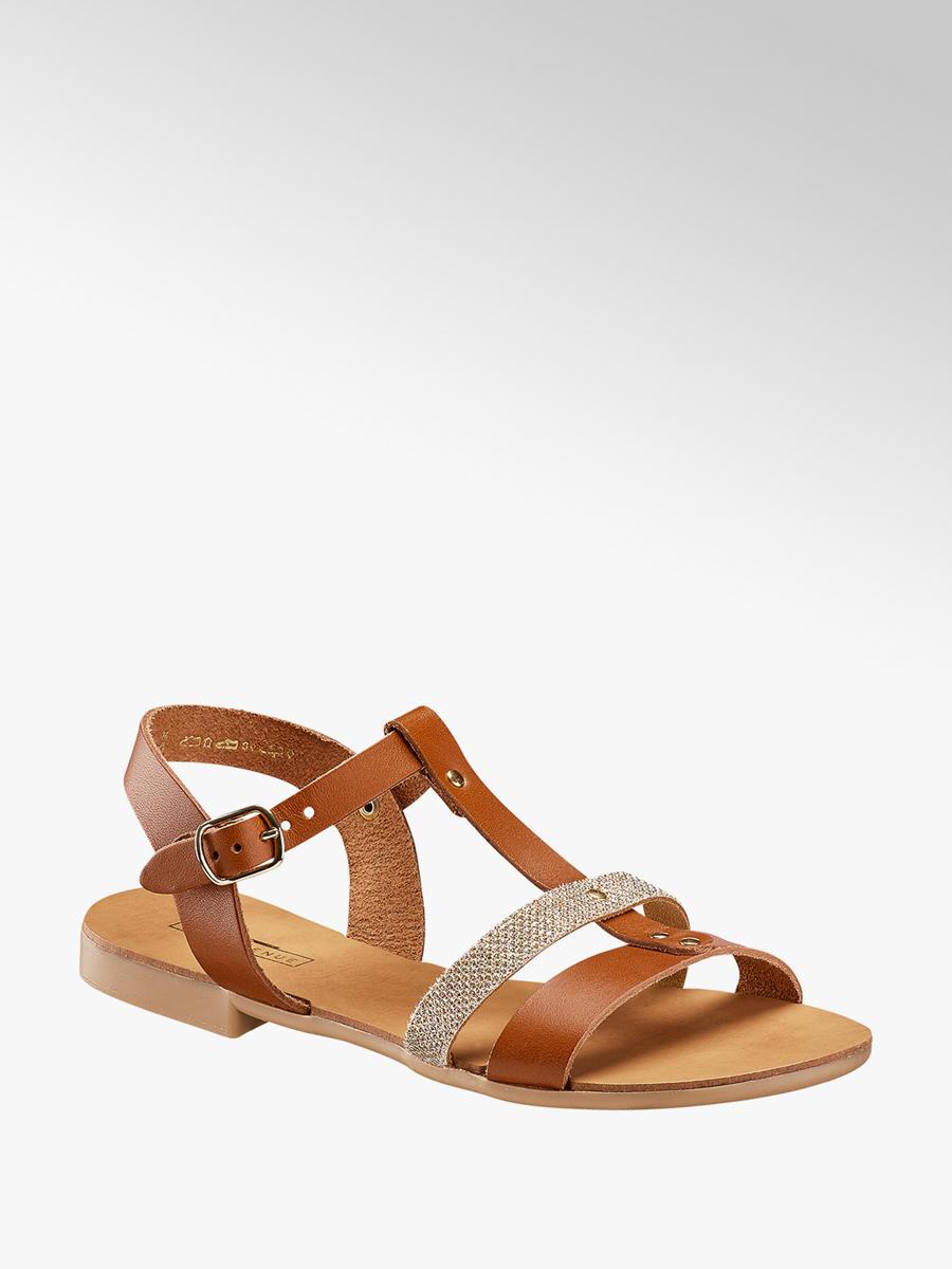 Acheter à prix avantageux sandale femmes en brun de 5th Avenue dans la  boutique en ligne 8e5be0d6b86