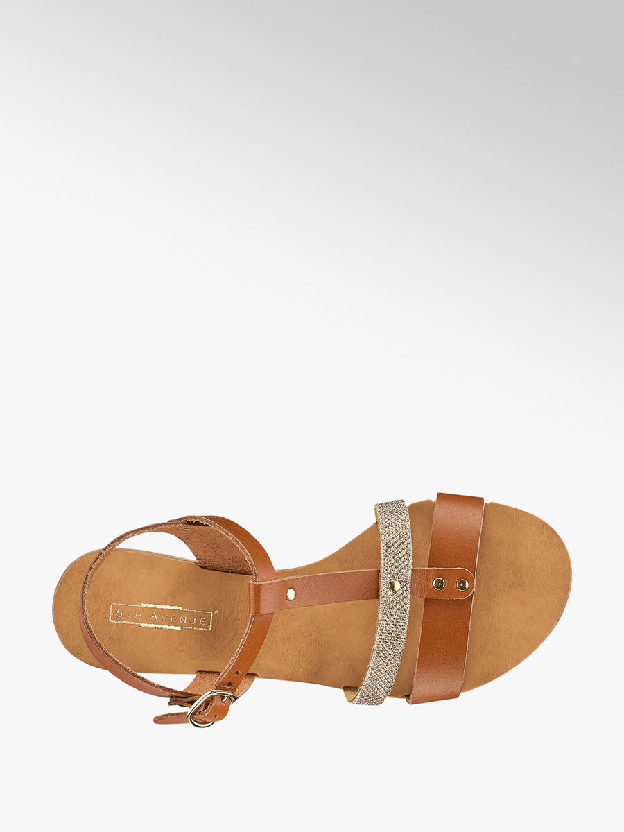 Acheter à prix avantageux sandale femmes en brun de 5th Avenue dans ... 511b32904e1